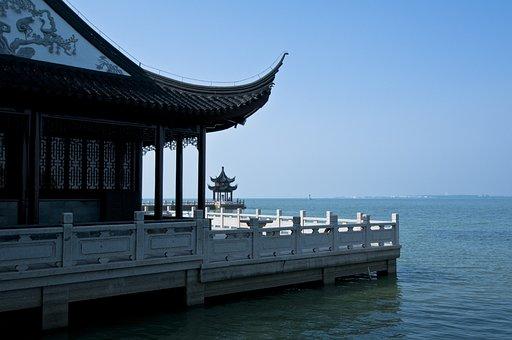 Suzhou, Start Garden, Pier