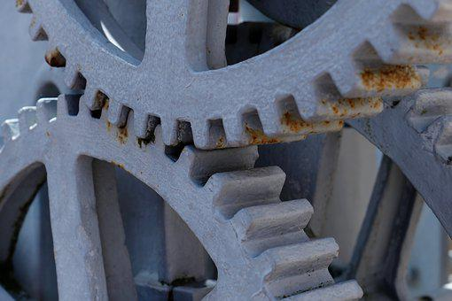 Gears, Transmission, Industrial Heritage, Technology