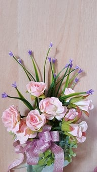 Flower, Wedding, Bouquet, Romantic, Bride, Natural