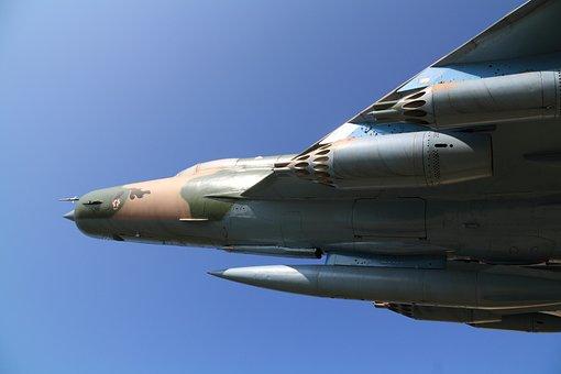 Fighter, Jet, Plane, Airplane, Defense, Rocket