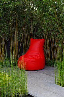 Mindset, Faq, Red, Green, Chair, Trees, Willow, Reeds