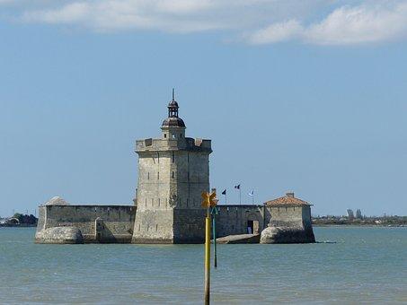 Fort, Louvois, Strong Louvois, Oléron, Island, Sea