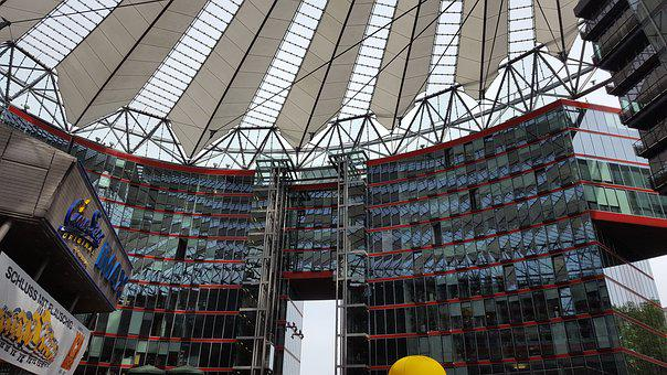 Berlin, Sony Center, Potsdam Place