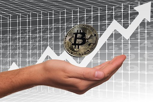 Bitcoin, Stock Exchange, Profit, Share, Rise
