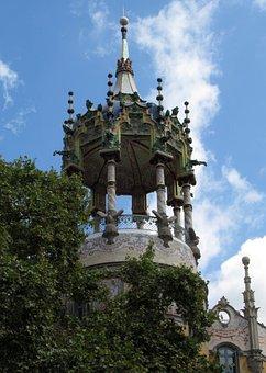 La Rotonda, Modernism, Barcelona, Tibidabo