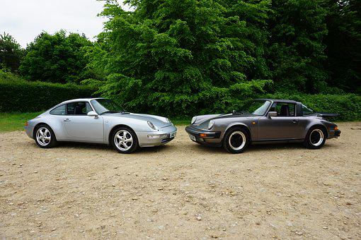 Porsche, 993, 911, Targa, Car