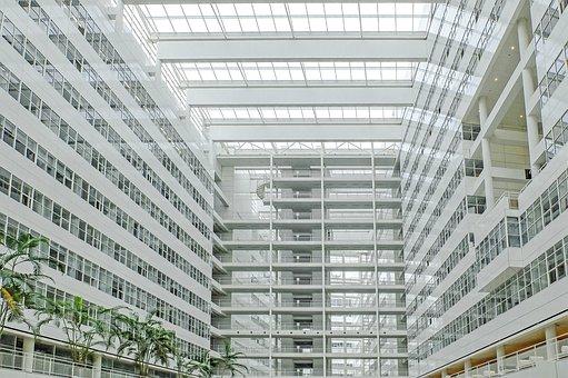 Building, Inside, Urban, Modern, Architecture, Windows