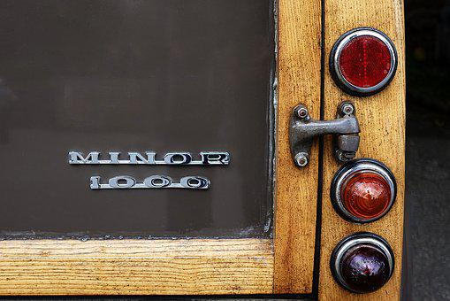 Car, Automobile, Minor, Morris, 1000, Classic, Vintage