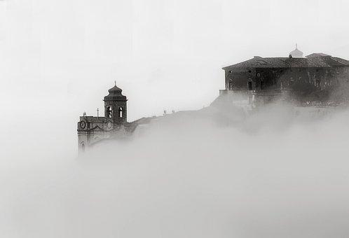 Castrocielo, Fog, Italy, Lazio, Country