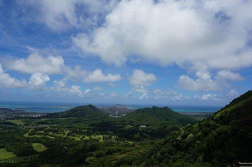 Hawaii, Wind, Cloud, Honolulu, Travel, Scenery, Tourism