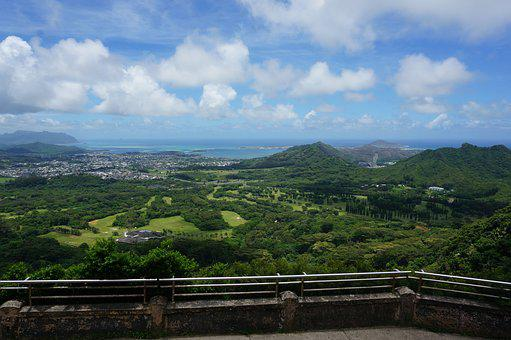 Hawaii, Wind, Cloud, Honolulu, Travel, Scenery, Tourism
