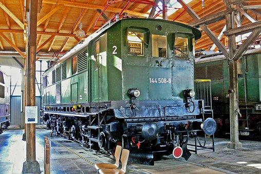 Electric Locomotive, Museum, Lokwelt Freilassing