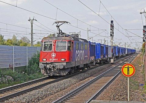 Freight Train, Oberrhein Track, Appenweier