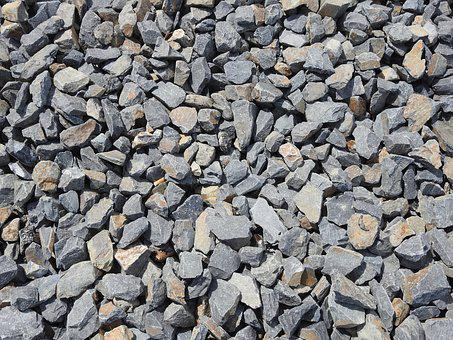 Stones, Gravel, Train, Background, Steinig, Structure