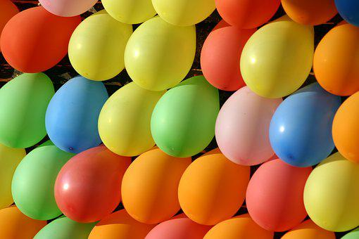 Balloons, Multiple Balloons, Colorful