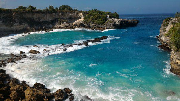 Bali, Blue Lagoon, Lenbongan, Ocean, Bay