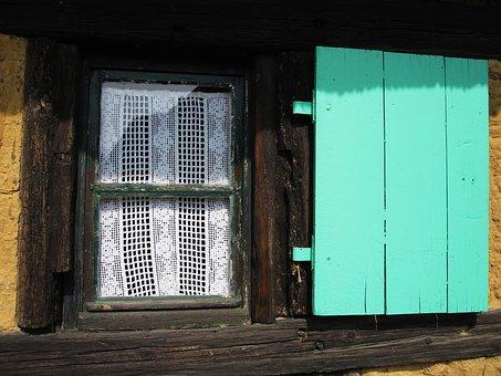 Klappladen, Window, Shutter, Historically, Old