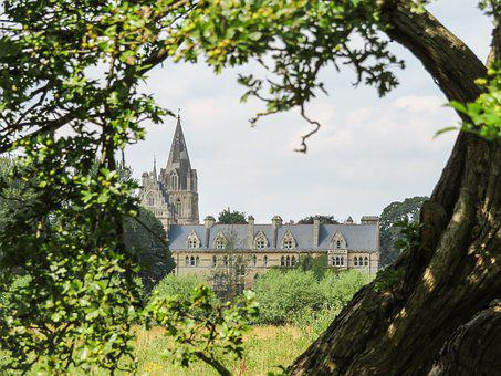 Christchurch, College, Oxford, University, Historic