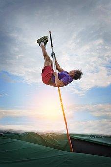 Pole Vault, Pole Vaulting, Pole, Vault, Sport, Athlete