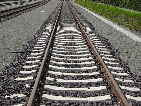 Railway, Track, Seemed, Railway Station, Railway Rails