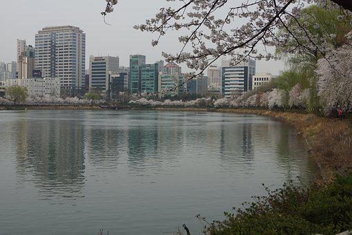 Jamsil, Songpa, Seokchon Lake