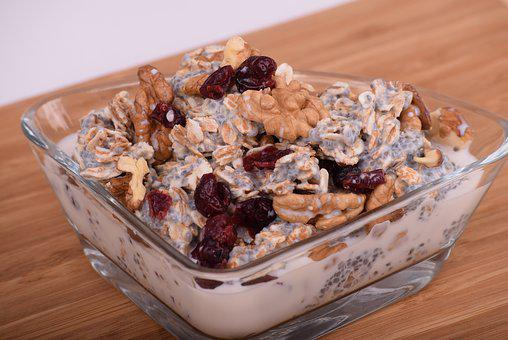Oatmeal, Dried Cranberries, Cranberries, Simple, Tasty
