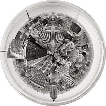 New York, Manhattan, Nyc, Architecture, Urban, Sky