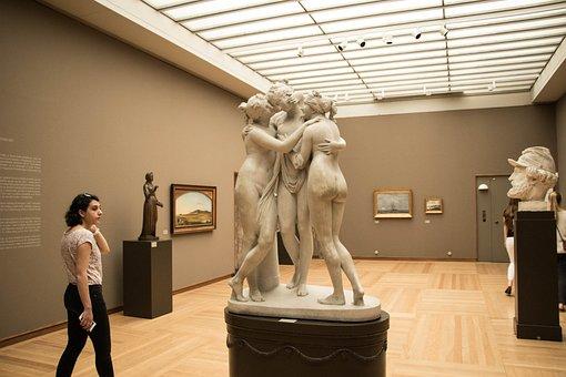 Statue, A Museum, Art, Museum, History, Sculpture