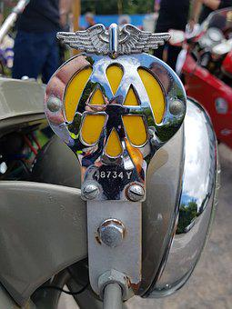 Aa, Badge, Motorcycle, Logo, Sign, Emblem, Insignia