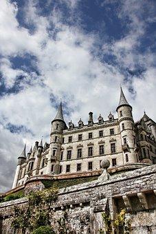 Scotland, Dunrobin Castle, Castle, Fairy Tales