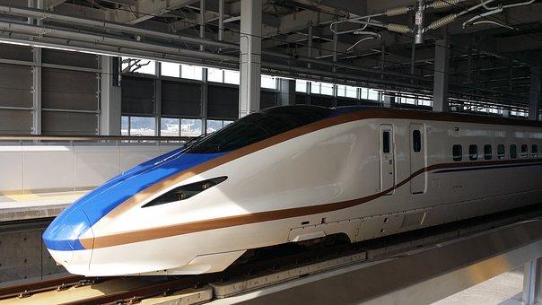 Bullet Train, Station, Home, I, Departure, Journey