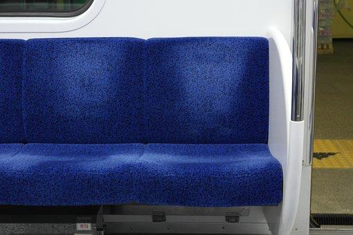 Subway, Chair, Blue, Spot, Railway, Seoul, If, Train