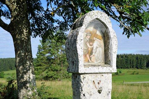 Way Of The Cross, Jesus, Religion, Germany, Nature