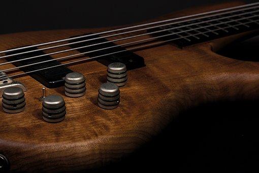 Guitar, Head, Bass Guitar, Music, Instrument, Light