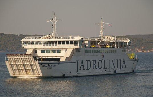 Ship, Sea, Port, Shipping, Maritime, Cargo Ship, Ferry