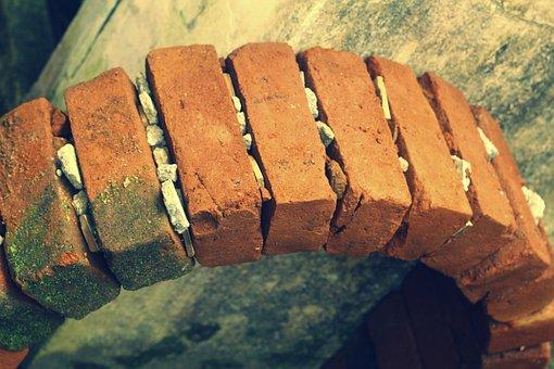 Brick, Brickarch, Arch, Architecture, Self Support