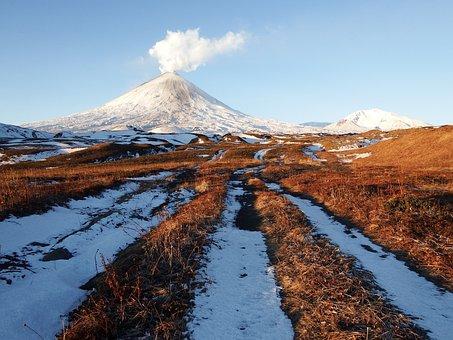 Volcano, Klyuchevskaya Sopka, The Eruption