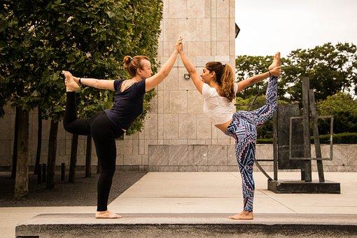 Yoga, Street, Sport, Woman, Girl, Workout, Fitness