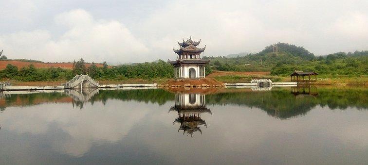 Wuyuan, Ink On The River, Yan Lake, Ink Incense Kiosk