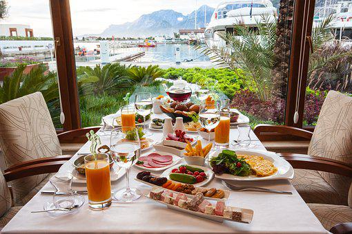 Breakfast, Table, Food, Macro, Good Morning, Cafe