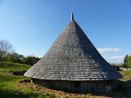 Tavaillon, Roofing, Tile, Wood, Tile Wood, Conical Roof