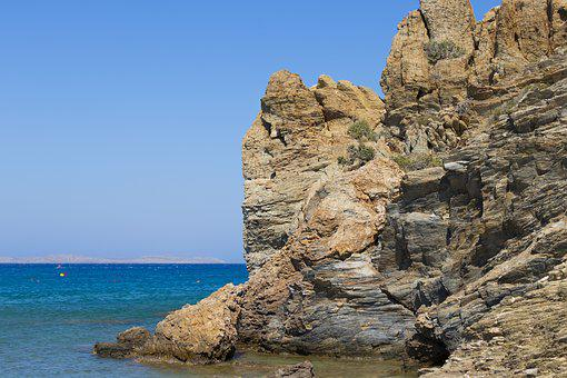 Crete, Greece, The Stones, Landscapes, Holidays, Sea