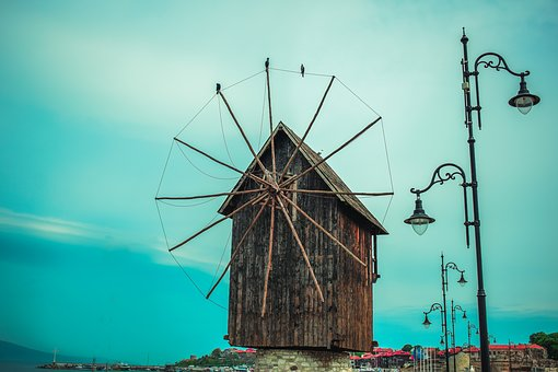 Nessebar, Mill, Old Town