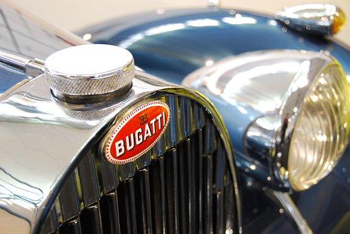 Bugatti, Oldtimer, Classic, Vehicle, Old, Nobel Krusty