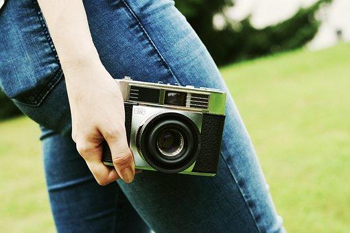 Camera, Old Camera, Nostalgia, Photo Camera, Photograph