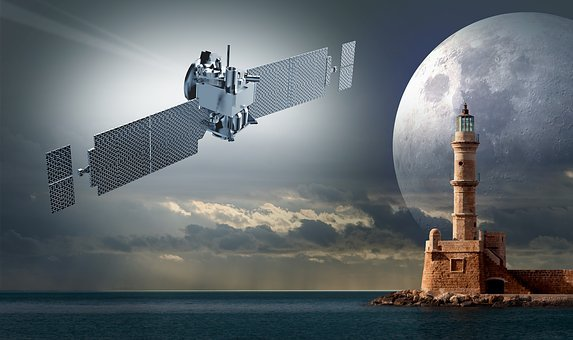 Satellite, Signal, Lighthouse, Mission To Mars