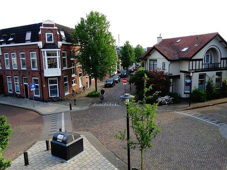 Hengelo, Afrikaanderbuurt, Crossing, Street, Streets