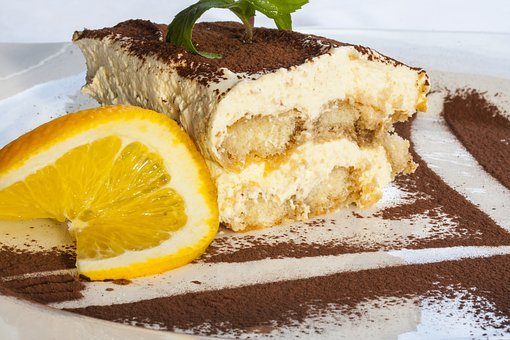 Cake, Lemon, Sweet, Tiramisu, Candy, Chocolate, Food