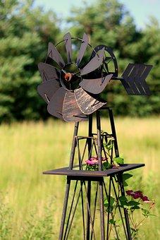 Windmill, Rustic, Wind, Vintage, Power, Rural, Energy