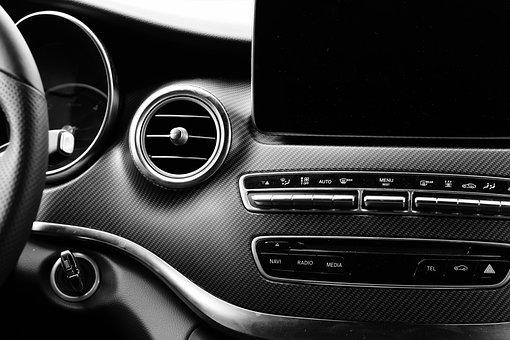 Dashboard, The Vehicle Interior, Auto, Mercedes Benz